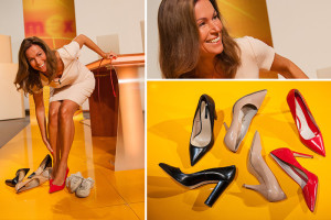 Schuhe im Studio